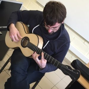 section lutherie de l'IFAPME