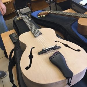 la section lutherie de l'IFAPME