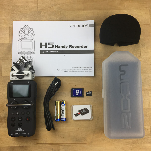 ZOOM H5 Unboxing